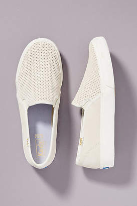 54ce0d6ee4d Keds Double Decker Perforated Suede Sneakers