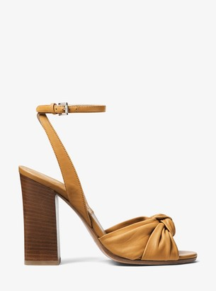 Michael Kors Gabrielle Leather Sandal