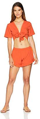 Oasis Wild Beachwear Women's Swimwear Beachwear Blouse Shorts Set Cover Up Casual Wear