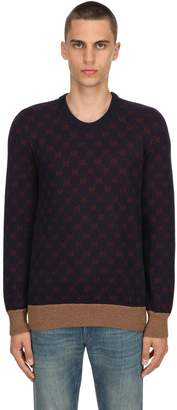 Gucci Gg Wool & Alpaca Blend Knit Sweater