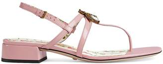 Gucci Women's Patent Leather Sandals