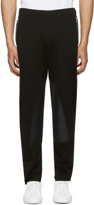 Alexander McQueen Black Zip Lounge Pants $595 thestylecure.com