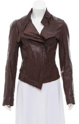 Ikks Casual Leather Jacket