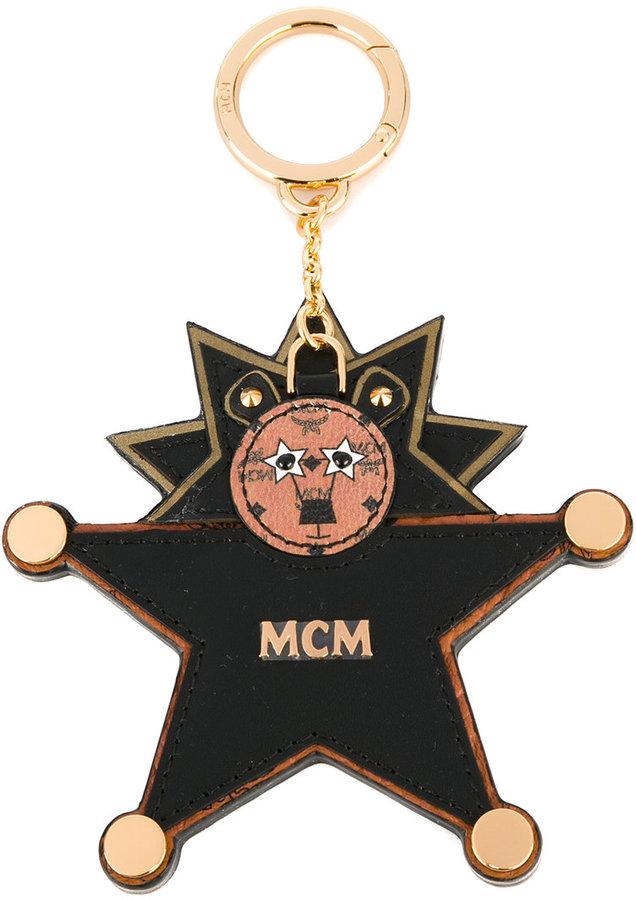 MCMMCM bear star keyring