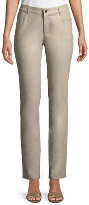 Lafayette 148 New York Thompson Frosted Denim Slim-Leg Jeans
