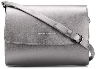 Fabiana Filippi metallic foldover shoulder bag