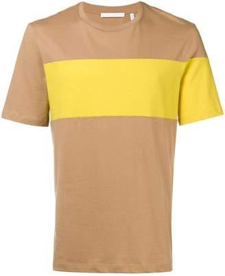 Helmut Lang colour block T-shirt
