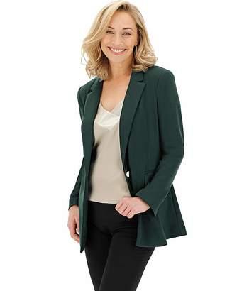 Berlei Green Soft Ponte Blazer