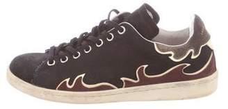 Etoile Isabel Marant Low-Top Suede Sneakers
