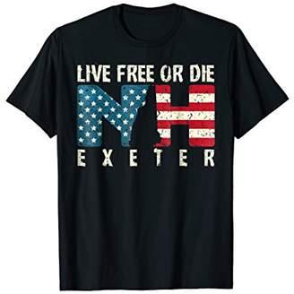 Exeter Patriotic Live Free or Die T-Shirt