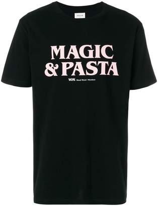 Wood Wood Magic And Pasta T-shirt