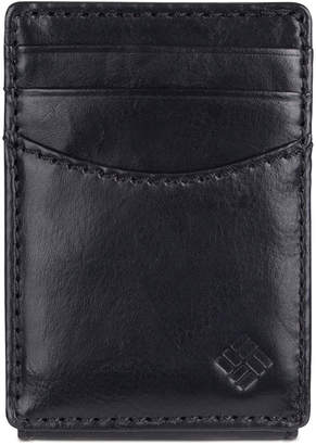 Columbia Men's Front-Pocket Money Clip Rfid Wallet