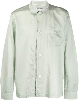 Our Legacy classic collar button shirt