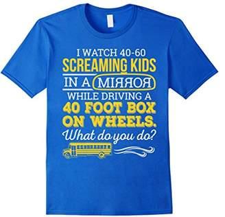 School Bus Driver - What do you do 2 T-Shirt