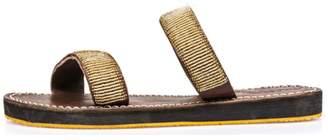 Laidback London Two Strap Sandal