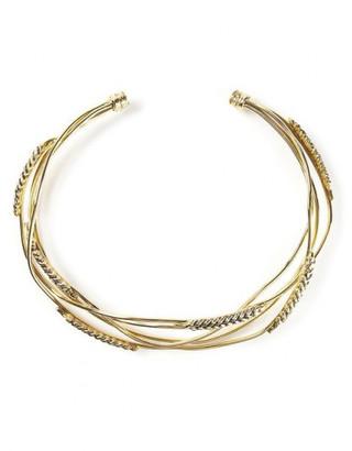 Aurelie Bidermann 'Wheat' choker necklace $885 thestylecure.com