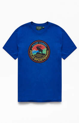 Polo Ralph Lauren Blue Sportsman T-Shirt