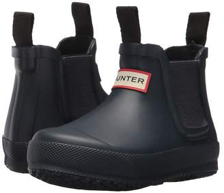 Hunter Flat Sole Chelsea Kids Shoes