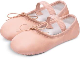 Flo Dancewear Ballet Slippers, Little Girls & Big Girls