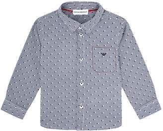 Emporio Armani Square Print Shirt