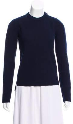 Celine Rib Knit Wool Sweater