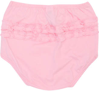 M&Co Pink frill knickers two pack