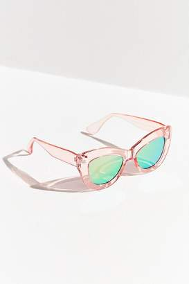 Urban Outfitters Elvira Extreme Cat-Eye Sunglasses