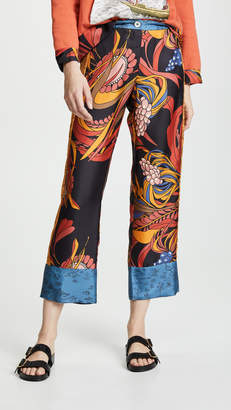 Riviera La Prestic Ouiston Mix Print Pants