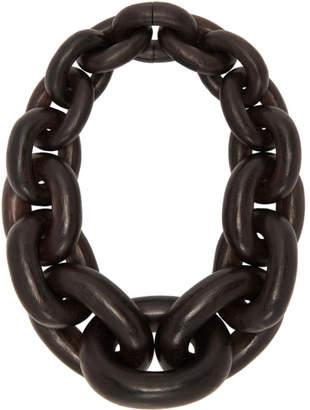 Monies Jewellery Black Acacia Seoul Necklace