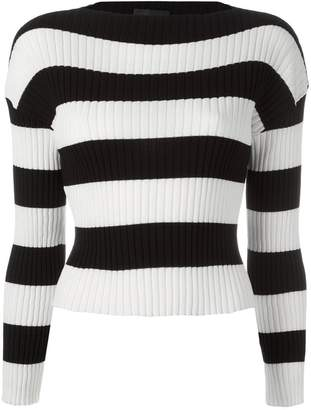 Moschino striped jumper