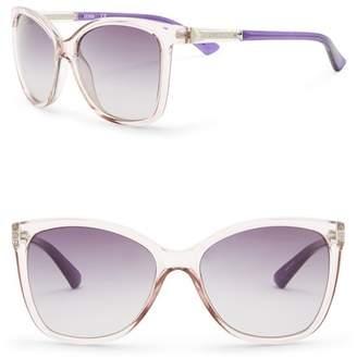 GUESS 58mm Square Sunglasses