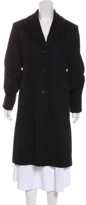 Calvin Klein Collection Merino Wool Long Coat