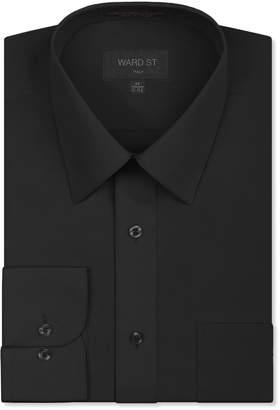 Ward St Men's Regular Fit Dress Shirts, Large, 16-16.5N 32/33S