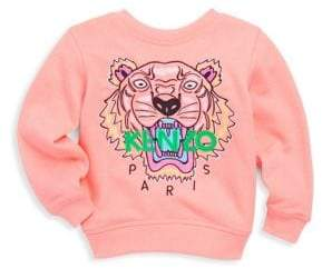 Kenzo Toddler's, Little Girl's& Girl's Tiger Cotton Sweatshirt