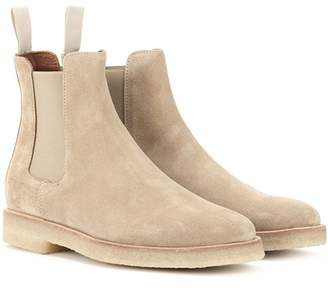 Common Projects Suede Chelsea ankle boots
