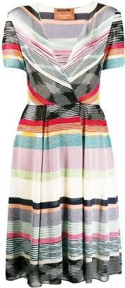 Missoni striped glitter dress