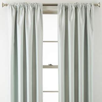 JCPenney Home ExpressionsTM Jordyn Room-Darkening Rod-Pocket/Back-Tab Curtain Panel