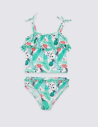 Marks and Spencer Tankini Set with Sun Smart UPF50+ (3-16 Years)