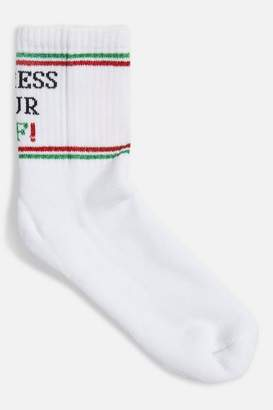 Topshop 'Express Your Elf' Socks