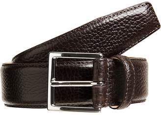 Crockett Jones Crockett & Jones Men's Grained Leather Belt
