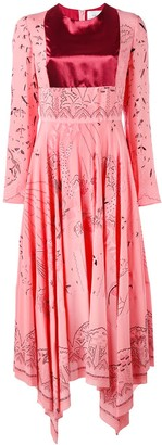 Valentino Swallow Metamorphosis dress