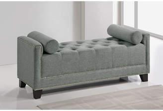 Baxton Studio Wholesale Interiors Hirst Upholstered Bench