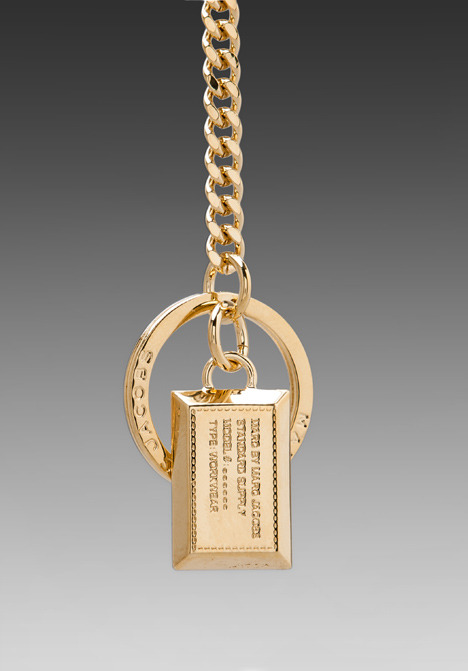 Marc by Marc Jacobs Standard Supply Key Chain/Bag Charm