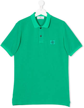 Stone Island Junior TEEN short-sleeve polo dress