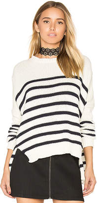 FAITHFULL THE BRAND Puglia Knit Sweater in Ivory $150 thestylecure.com