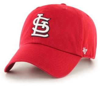 Women's '47 Clean Up St. Louis Cardinals Baseball Cap - Red $25 thestylecure.com