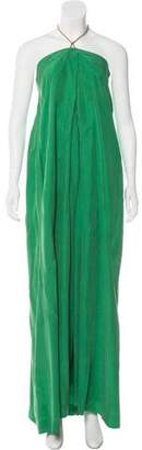 Diane von Furstenberg Strapless Maui Long Dress