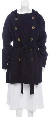 Jean Paul Gaultier Double-Breasted Virgin Wool Coat