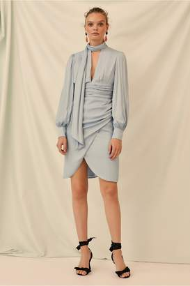 Keepsake GRACIOUS LONG SLEEVE DRESS powder blue