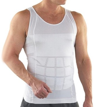 Igia Men's Slimming Undershirt Body Shaper Vest For Weight Loss